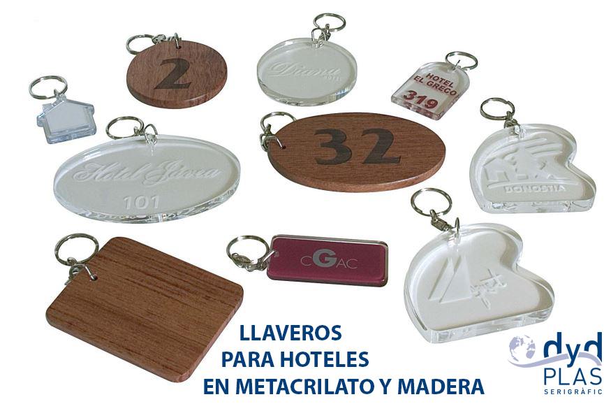 LLAVEROS PARA HOTEL