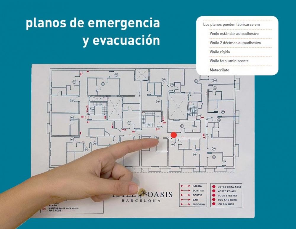 PLANOS DE EMERGENCIA Y EVACUACIÓN