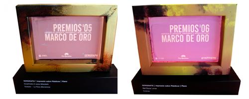 Premios 2006 marco de oro
